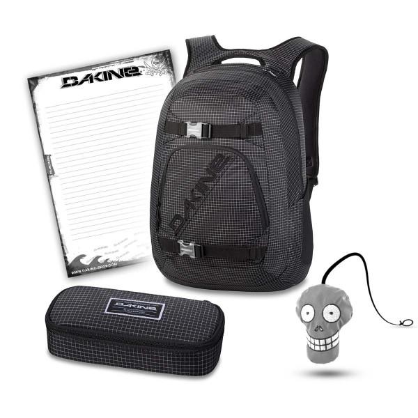 Dakine Explorer 26L + School Case XL + Harry + Block Set de Escuela Rincon