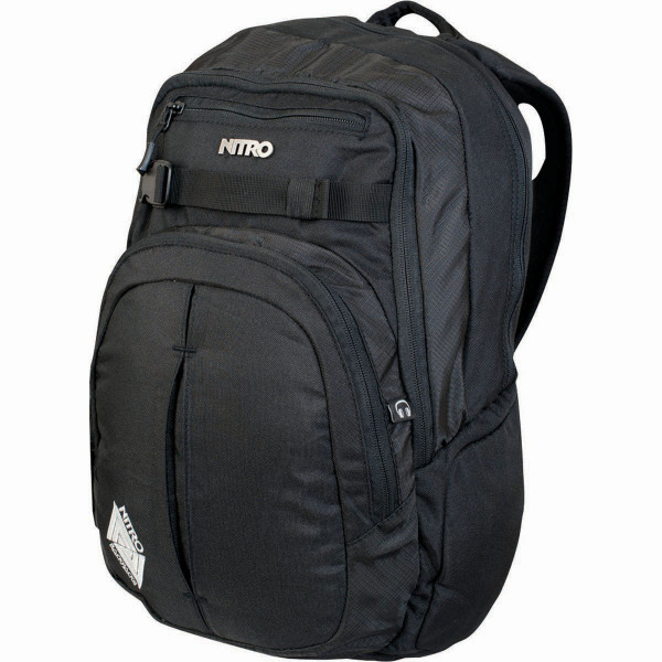 Nitro Chase 35L Laptop Mochila Black