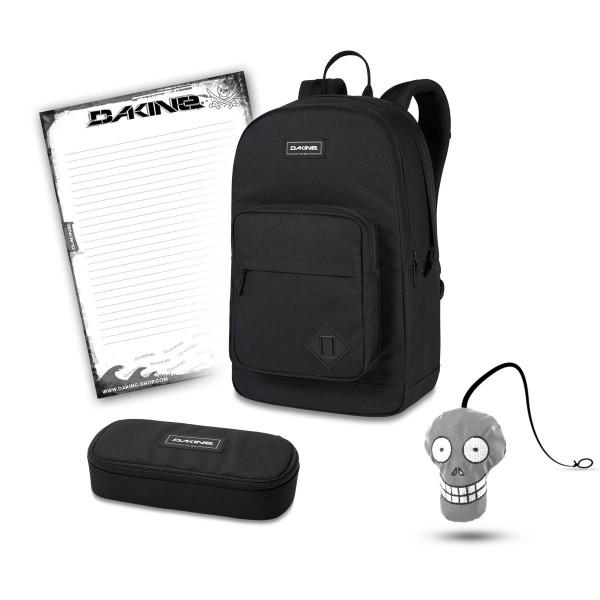 Dakine 365 Pack DLX 27L + School Case + Harry + Block Set de Escuela Black