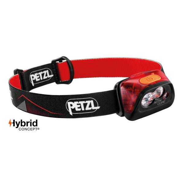 Petzl Actik Core Linterna Frontal Red