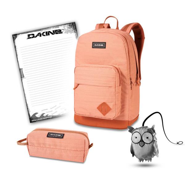 Dakine 365 Pack DLX 27L + Accessory Case + Emma + Block Set de Escuela Cantaloupe