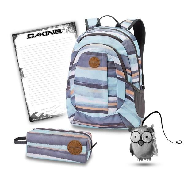 Dakine Garden 20L + Accessory Case + Emma + Block Set de Escuela Pastel Current
