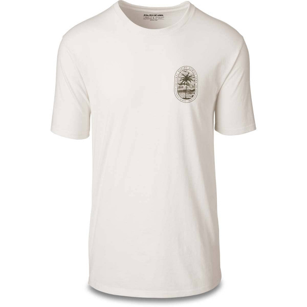 Dakine Lone Palm Herren T-Shirt Off White
