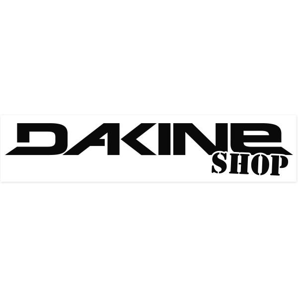 Dakine Shop Outdoor Adhesivo Black on clear Film (42 x 10 cm)