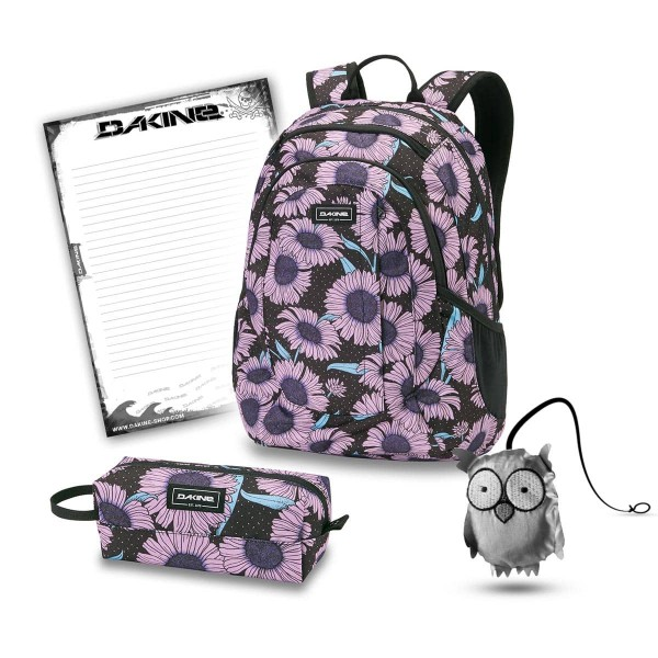 Dakine Garden 20L + Accessory Case + Emma + Block Set de Escuela Nightflower