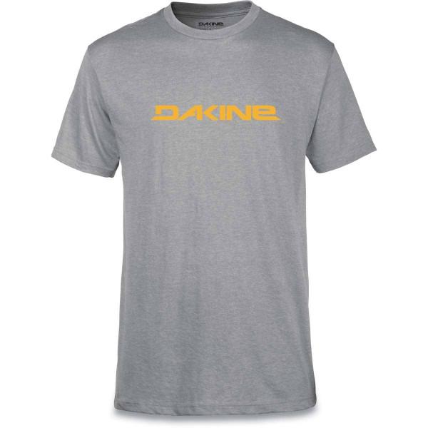 Dakine Da Rail T Shirt Herren Heather Grey/Golden Glow