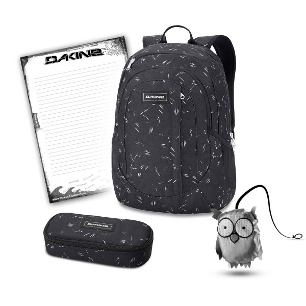 Dakine Garden 20L + School Case + Emma + Block Set de Escuela Slash Dot