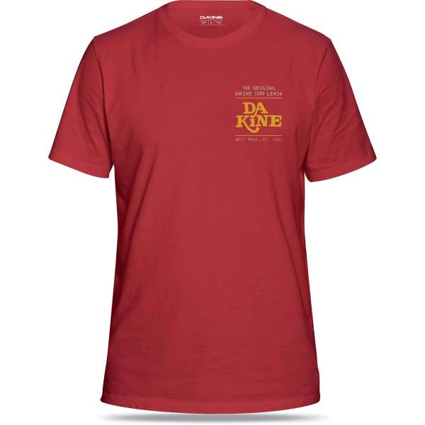 Dakine Da Leash Herren T-Shirt Deep Red