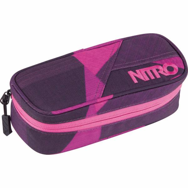 Nitro Pencil Case Estuche Fragments Purple