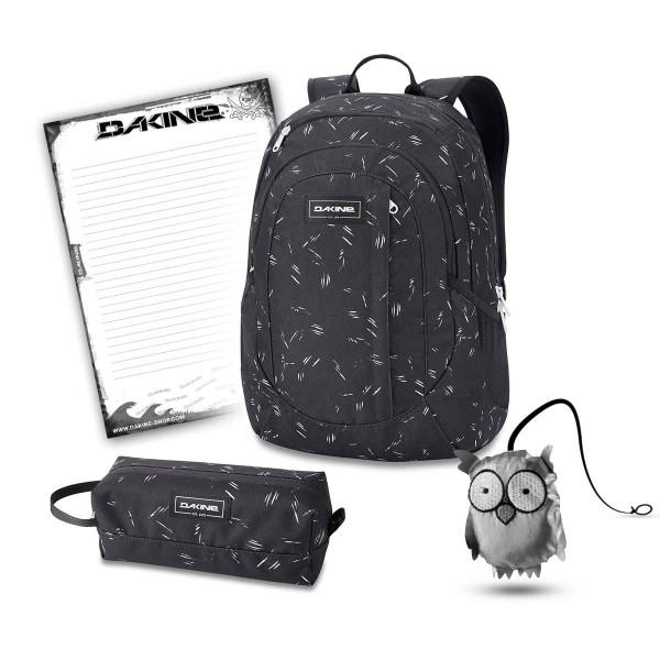 Dakine Garden 20L + Accessory Case + Emma + Block Set de Escuela Slash Dot