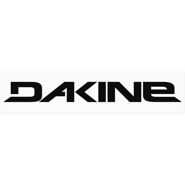 Dakine Outdoor Adhesivo Black on white Film (42 x 10 cm)