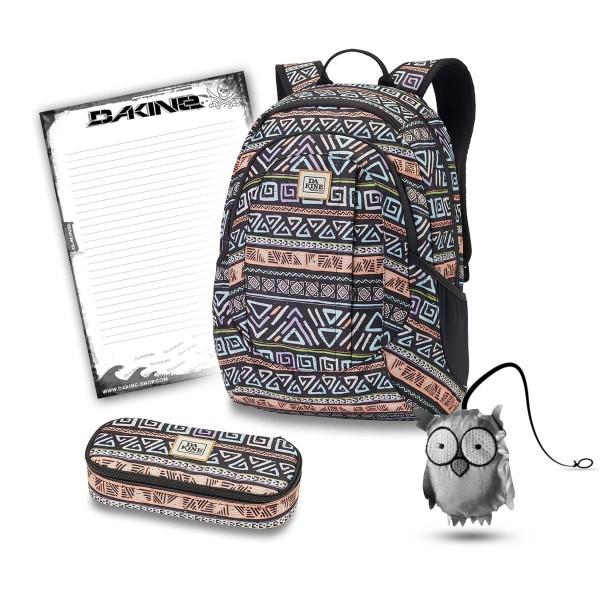 Dakine Garden 20L + School Case + Emma + Block Set de Escuela Melbourne