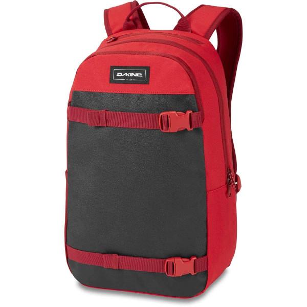 Dakine URBN Mission Pack 22L Rucksack mit iPad/Laptop Fach Deep Crimson