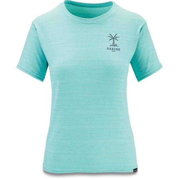 Dakine Women's Dauntless Loose Fit S/S Damen Lycra Nile Blue Heather