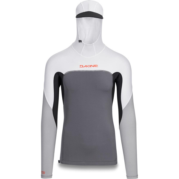 Dakine Storm Snug Fit Hooded L/S Lycra Carbon
