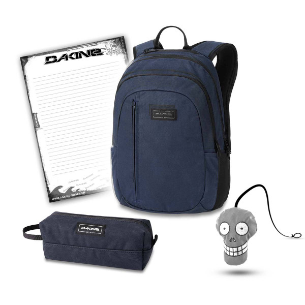 Dakine Factor 22L + Accessory Case + Harry + Block Set de Escuela Night Sky