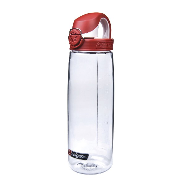 NALGENE® Everyday OTF 0,7L Trinkflasche Transparent/Red--1013908