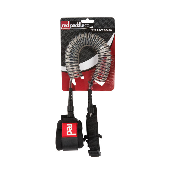 RED SUP Flat Water Coiled Leash
